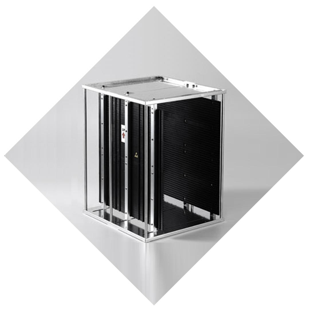 PCB magazines, storage